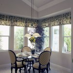Dinning room with vinyl windows